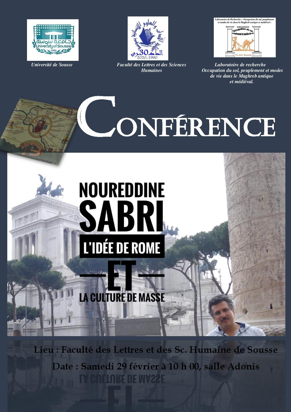 Conférence de Mr Noureddine Sabri