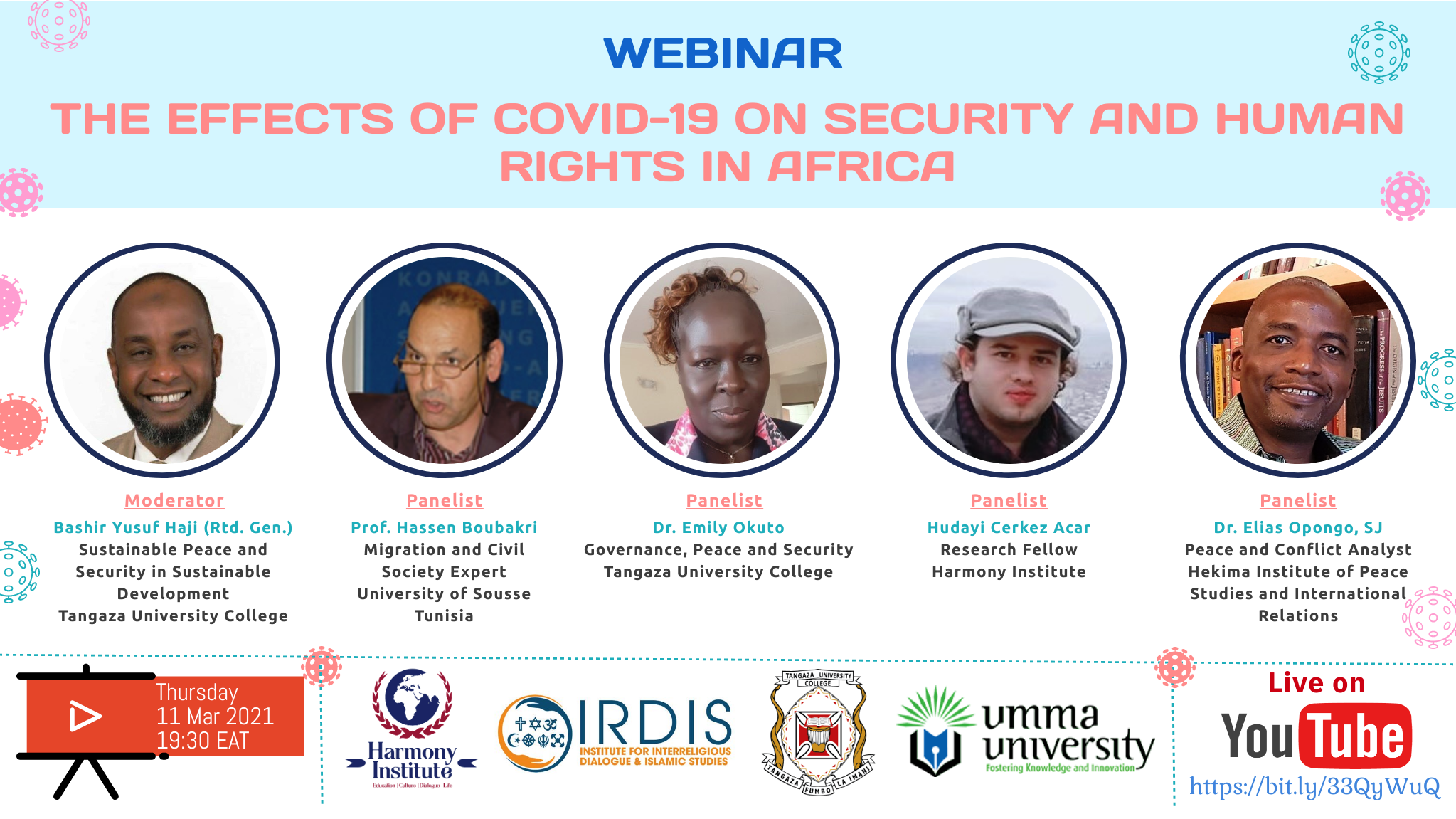 THE EFFECTS OF COVID-19 ON SECURITY AND HUMAN RIGHTS IN AFRICA