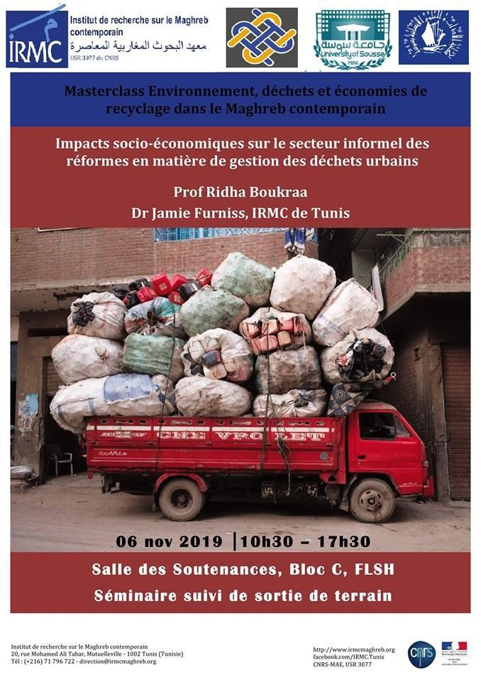 Impactssocio-économiques sur le secteur informel des réformes en matière de gestion des déchets urbains